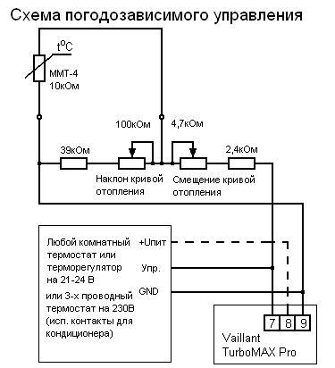Схема устройства и подключение